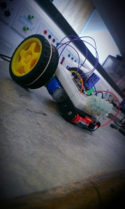 Photograph of a robot